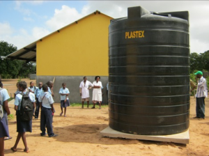 Nhaliveu Primary School - Rain water harvest system