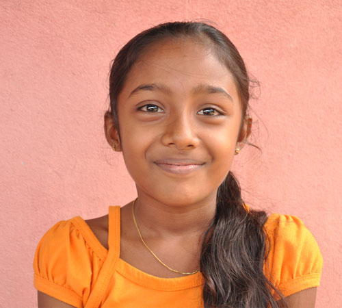 """If I was president of Sri Lanka, I would make safe places for children to look after them"" – Kasuni, 11 years old"
