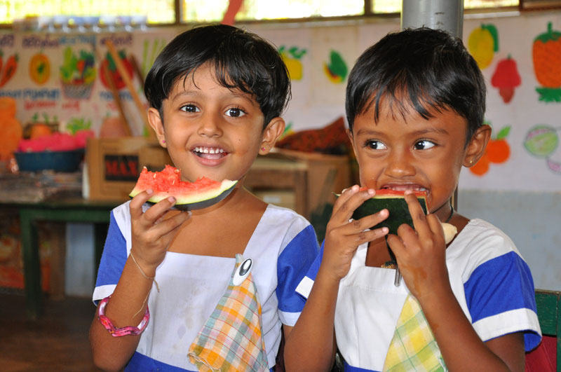 ECCD Centres supported by ChildFund in Sri Lanka
