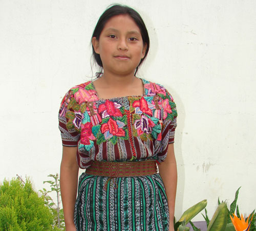 """When I grow up I want to become a teacher, and then I can educate children in my community"" – Irma, 12 years"