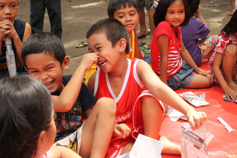 Boys will be boys --if you give them a healthy and happy environment.