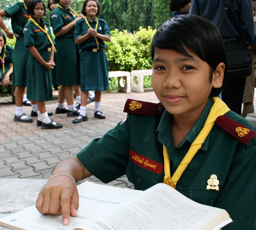 """I want to be a doctor so I can diagnose people and treat them"" – Maleewan, 13 years old"