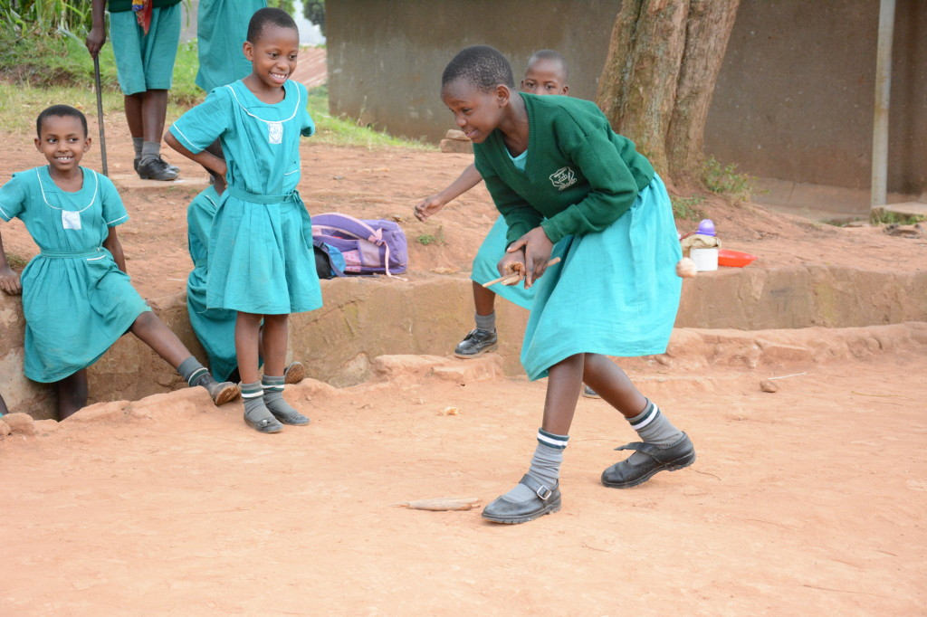 School Girls Playing - Uganda