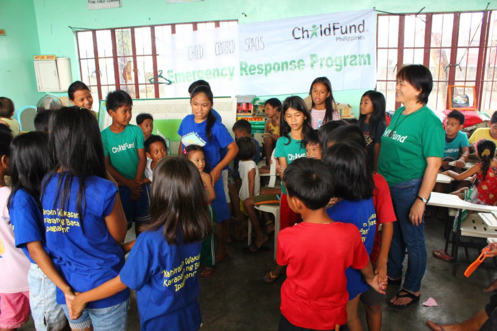 child centred space Ormoc