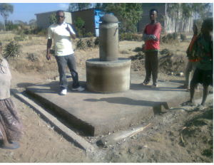 Water points constructed at the primary schools in Ethiopia