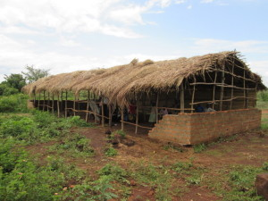 The existing structure which was being used as an ECD centre