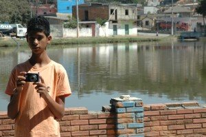 Caio, 15, has learned about photography through the ChildFund-supported programme Photovoice.