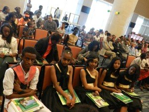 Young speakers enrolled in ChildFund Ethiopia's programmes