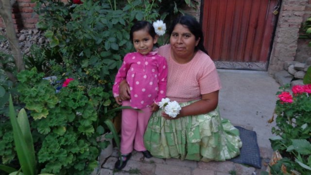 Rebeca & Her Mother, Bolivia