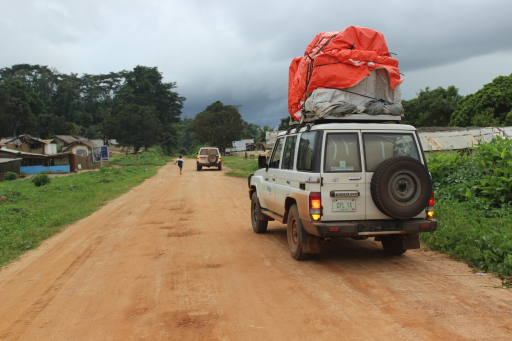 ChildFund Ebola Airlift - Enroute to Voinjama, Liberia