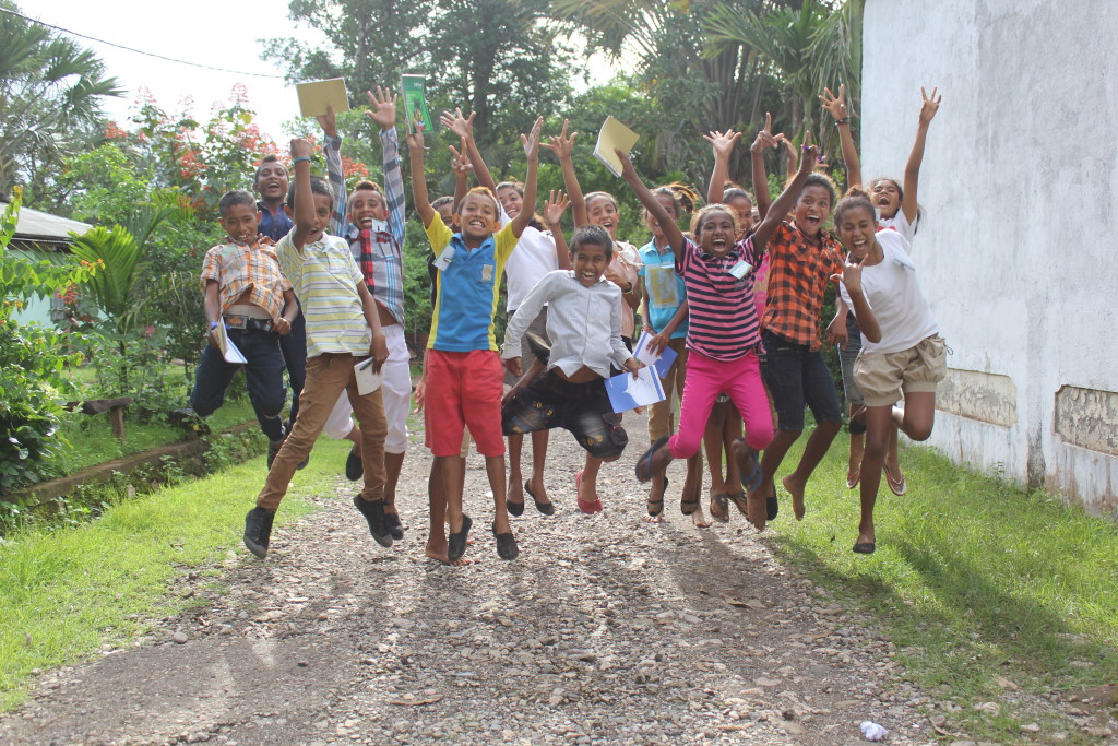 Children Against Violence Group In Timor-Leste