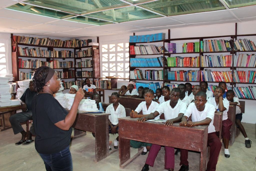 Shine a Light Campaign, Liberia - Educating Students about Sexual Violence