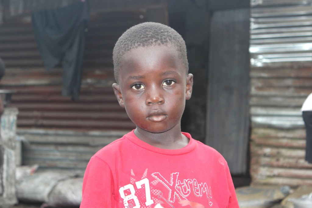 Zinnah (6) from Liberia Lost his parents and Four siblings to Ebola