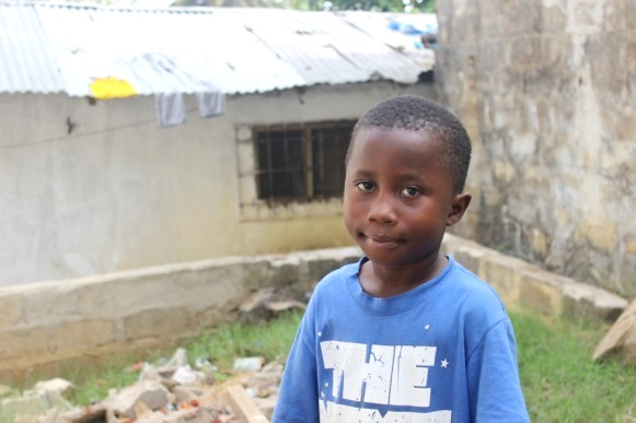 Jesse (6) from Liberia, Lost his Mother & Grandparents to Ebola