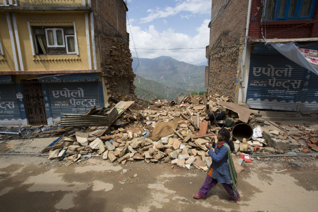 Nepal Earthquake Sindhulpalchok District - Photo Jake Lyell