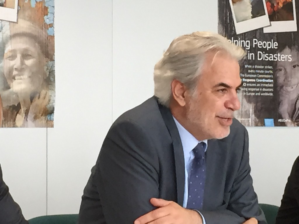 EU commissioner for Humanitarian Aid & Crisis Management - Mr Christos Stylianides