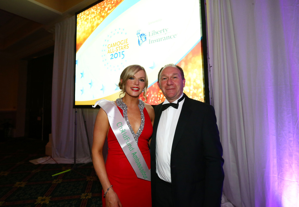 REPRO FREE***PRESS RELEASE NO REPRODUCTION FEE*** 2015 Camogie All-Stars In Association With Liberty Insurance, Citywest Hotel, Dublin 7/11/2015 Galway's Sarah Dervan Mandatory Credit ©INPHO/Cathal Noonan