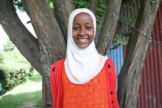 Sofia (14) From Ethiopia. ChildFund and partners are helping her to follow her dreams to be a Doctor