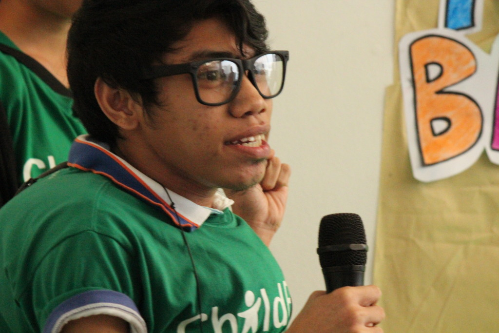 Though challenged by poverty and physical deformity, Joefil found he had a voice, and people listened to him.