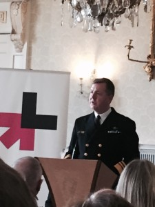 Chief of Staff Defence Forces Vice Admiral Mark Mellet, speaking at the HeforShe event, Dublin, March 11th, 2016