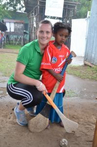 Aoife Murray bringing Camogie to Ethiopia (Compressed)