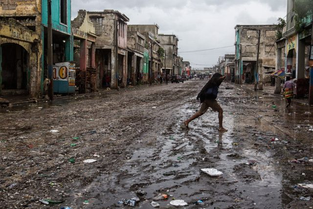 Hurricane Matthew has brought destruction to Haiti: Photo Credit UN