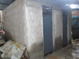 New latrines are humble but are in much better shape than before