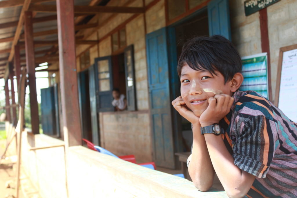 Noah, 12, of Myanmar, participated in the Small Voices, Big Dreams survey in 2016